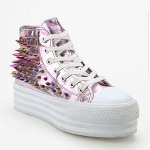 Unif Koop Higtop Platform Sneakers